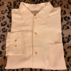 Tommy Bahama Yellow Hawaiian Silk Shirt XL